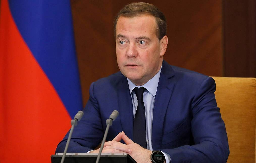 Security Council Deputy Chairman Dmitry Medvedev Julia Zyrianova/TASS