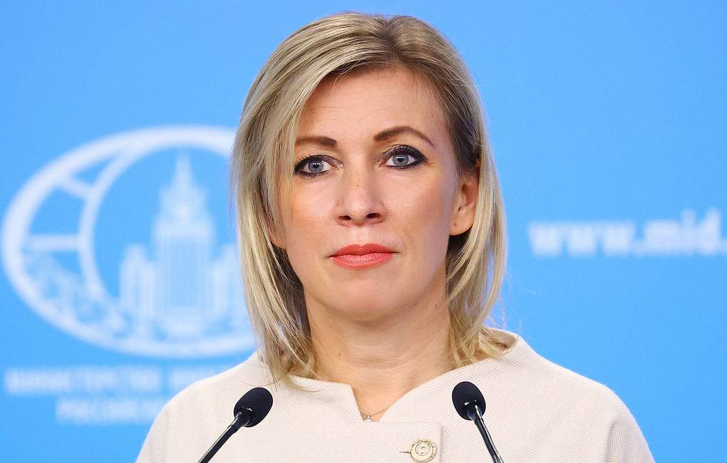 Russian Foreign Ministry spokeswoman Maria Zakharova The Russian Foreign Ministry's press office/TASS