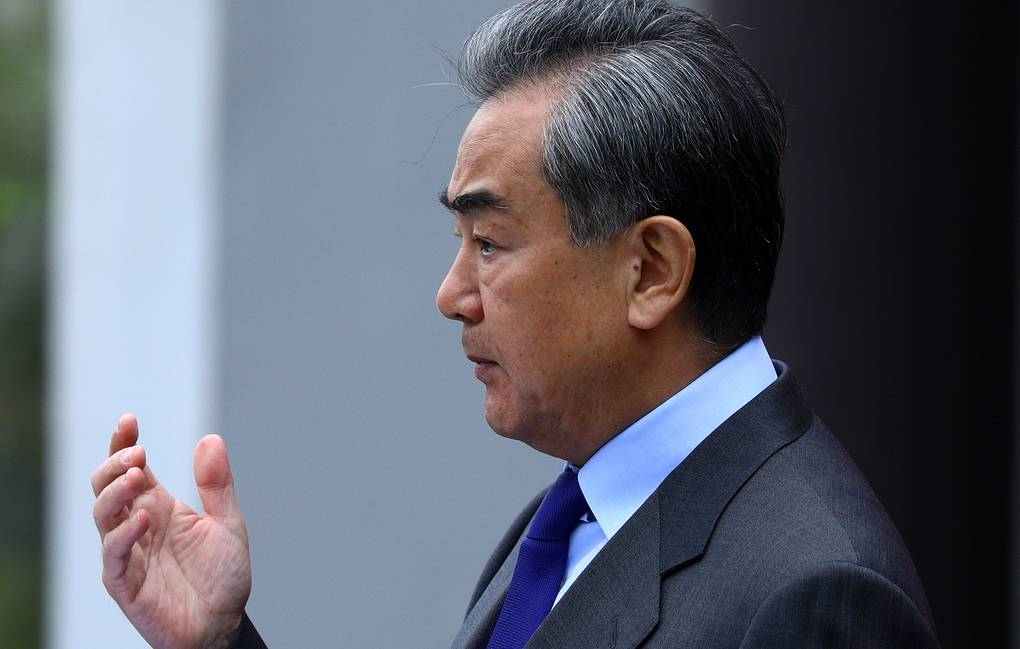 Chinese State Councilor and Foreign Minister Wang Yi Russian Foreign Ministry/TASS