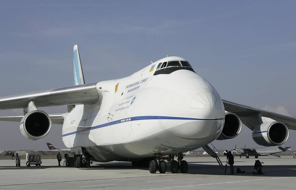 "Ан-124 ""Руслан"" Sean Gallup/Getty Images"