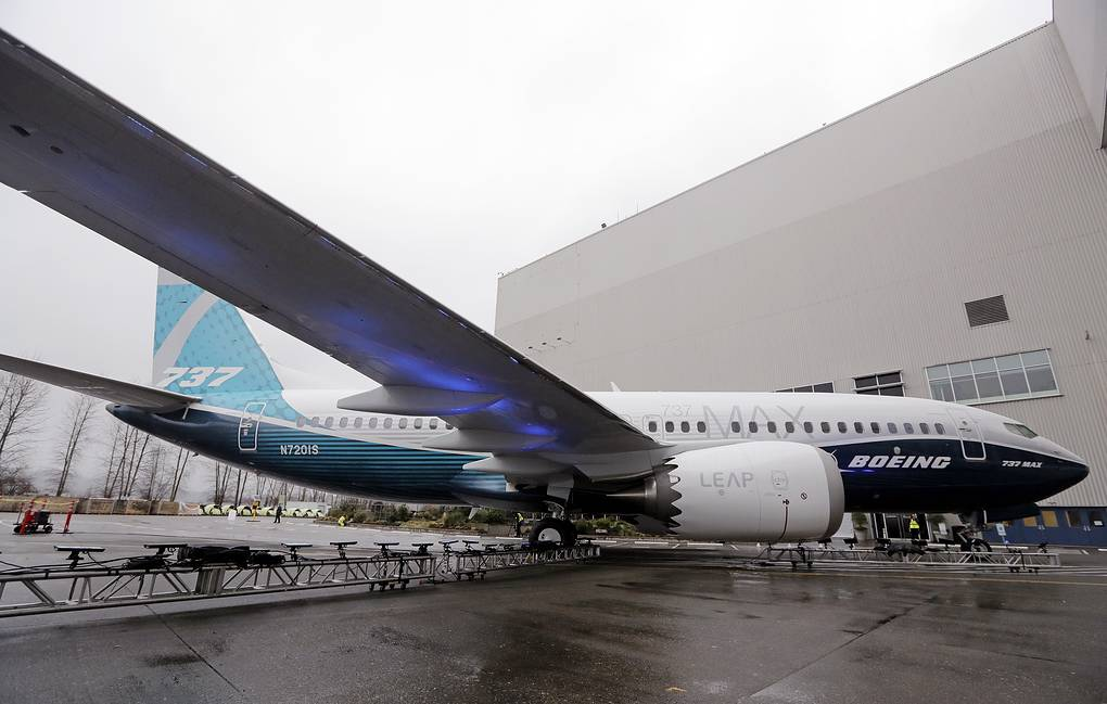 Boeing 737 MAX AP Photo/Elaine Thompson
