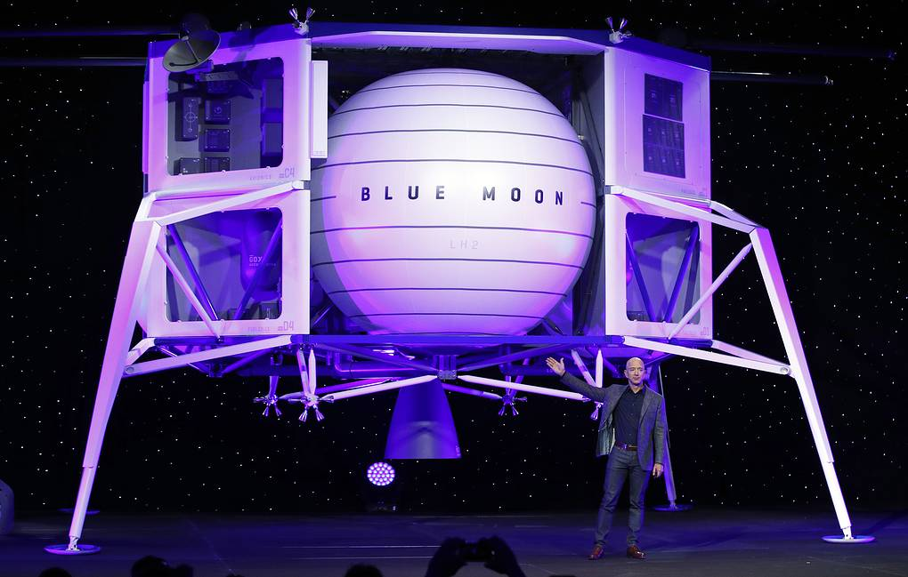 Глава компаний Amazon и Blue Origin Джефф Безос AP Photo/Patrick Semansky
