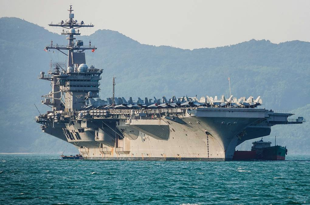 Авианосец USS Carl Vinson Getty Images/Getty Images
