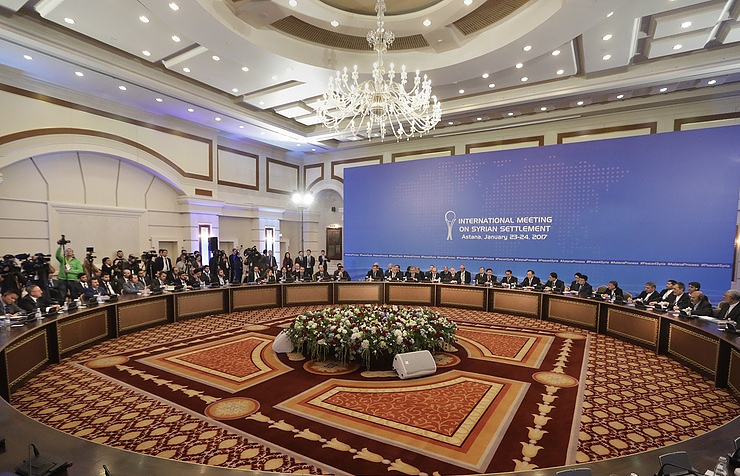 Egypt invited to Astana talks on Syria as observer - source