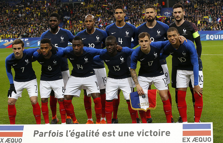French National Football Team To Arrive In St Petersburg For Friendly Against Russia Sport Tass