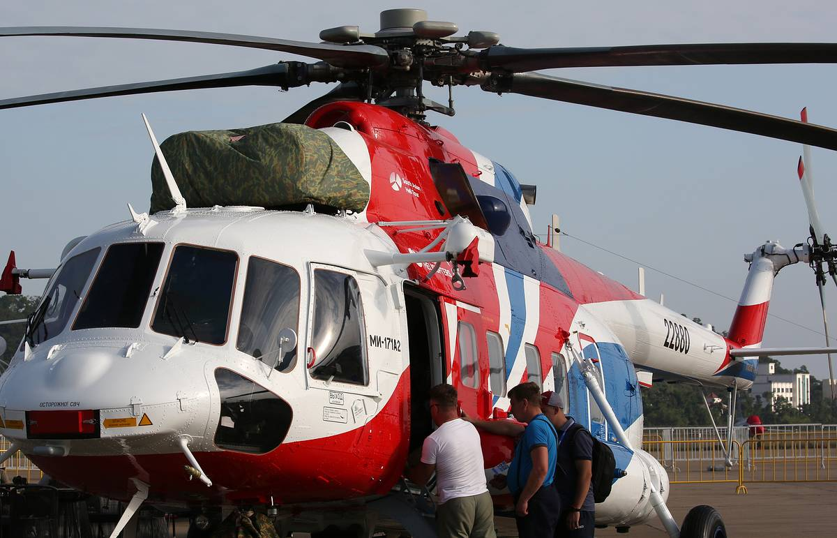 Russia exports Mi-171A2 transport helicopter for first time