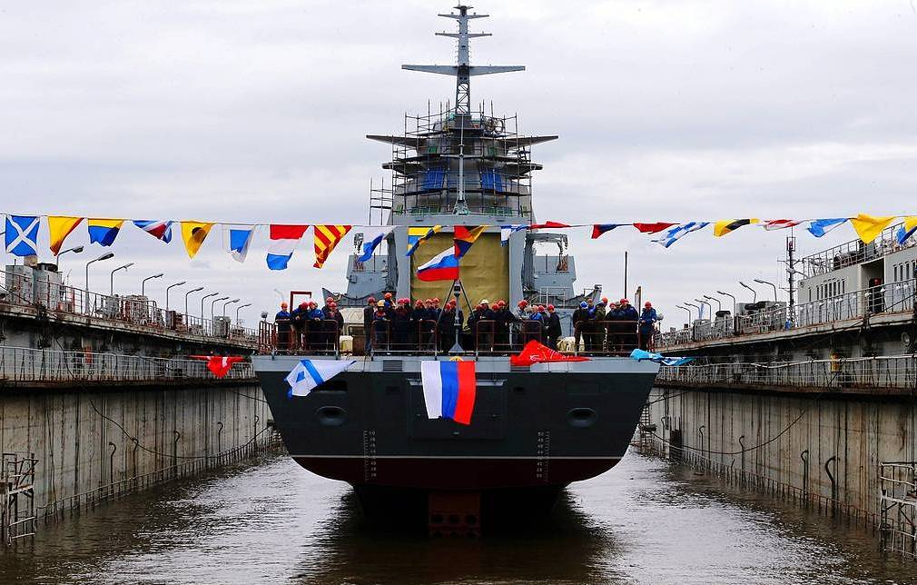 Project 20385 corvette to put to sea for trials on Sunday