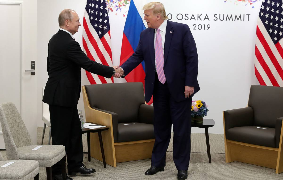Trump's stance on Russia unchanged, both sides aware of need to cooperate, Moscow says