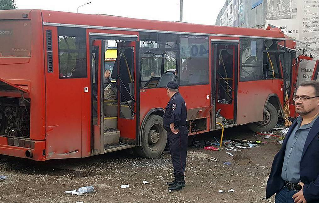 32 people now reported injured in bus crash in Russia's Perm - Health Ministry