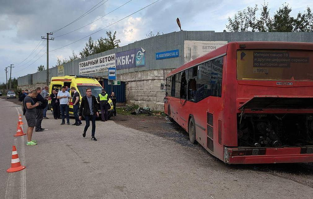 Injury toll from Perm bus accident rises to 33 - authorities