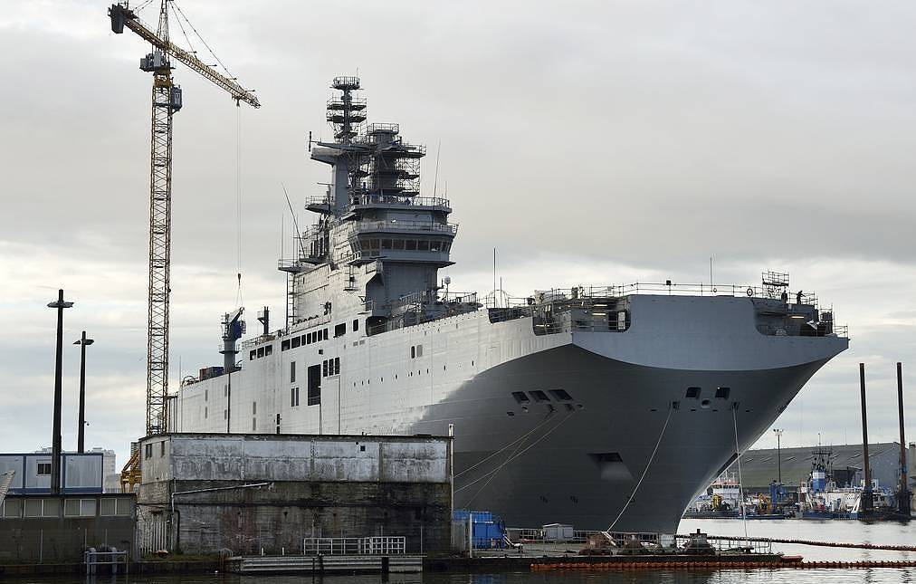 Russia's first two helicopter carriers to be laid down in Crimea in spring 2020 — sources