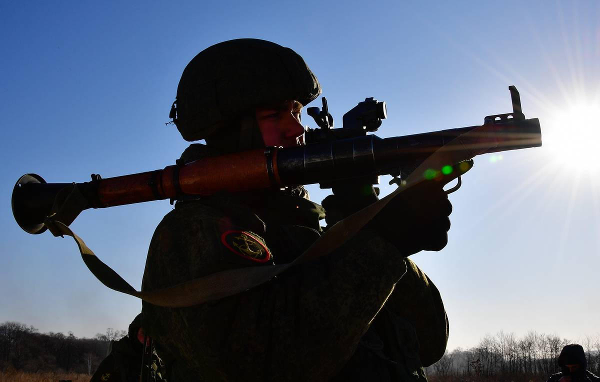 Nearly 4,000 servicemen take part in military drills in Russia's Far East