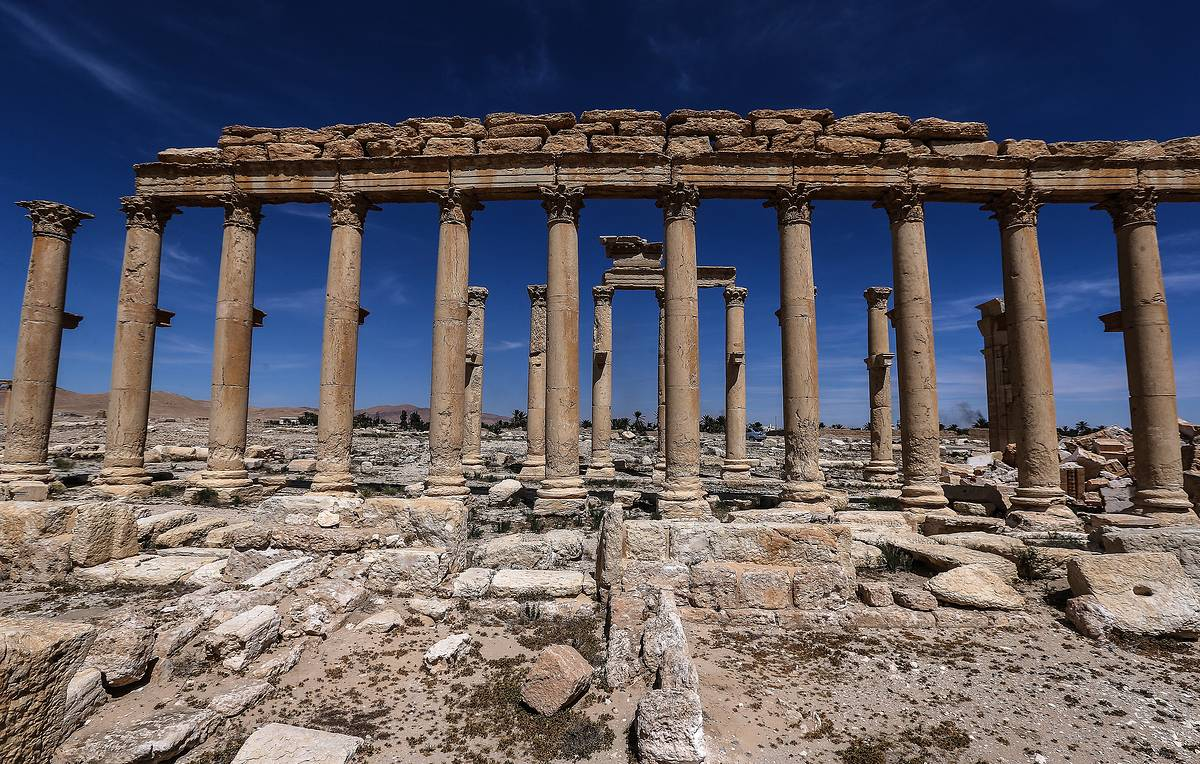 Russian archeologists return from another expedition to Syria's Palmyra