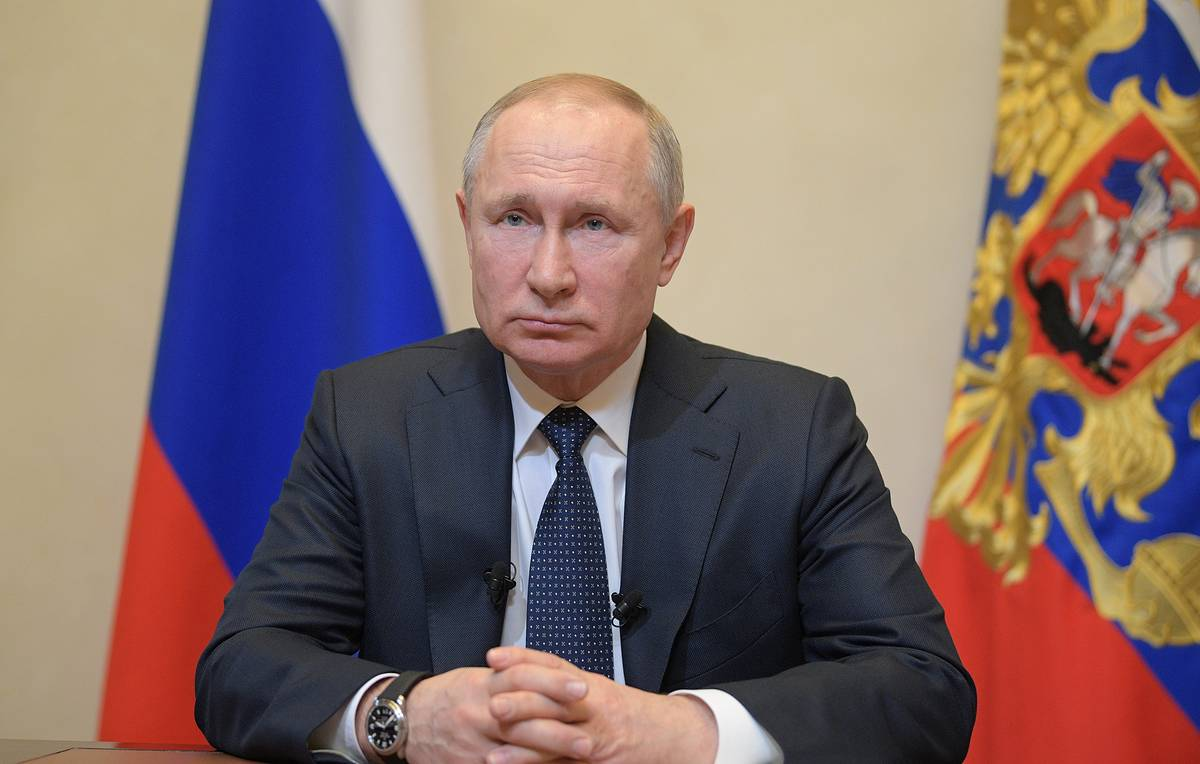 Putin calls on Russians 'to stay home' due to coronavirus