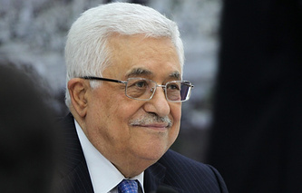 President of the Palestinian National Authority Mahmoud Abbas