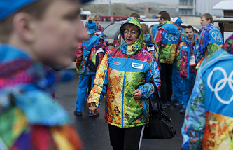 Volunteers for the Olympics