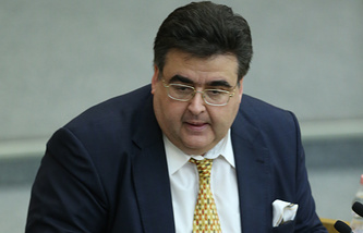 Head of the Duma Committee on Information Policy Alexei Mitrofanov