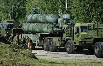 S-400 air defense system