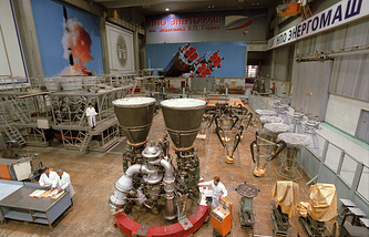 RD-180 engine production facility in Russia