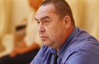 Igor Plotnitsky, head of the Luhansk People's Republic