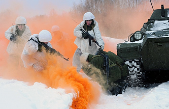 A motor rifle brigade in Murmansk