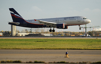 Aeroflot airplane