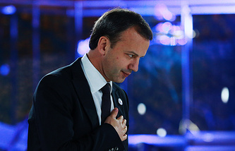 Deputy Prime Minister Arkady Dvorkovich at the Open Innovations forum