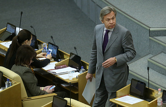 Alexey Pushkov, head of the Foreign Committee in Russian State Duma