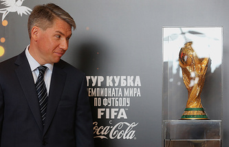 2018 World Cup organizing committee's chief Alexey Sorokin