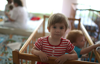 Orphanage in Luhansk