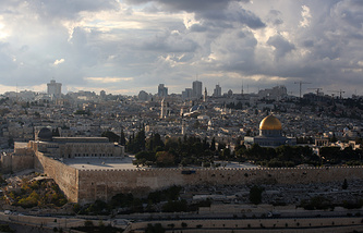 A view of Jerusalem