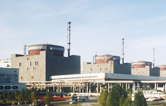 The Zaporizhia nuclear plant (archive)