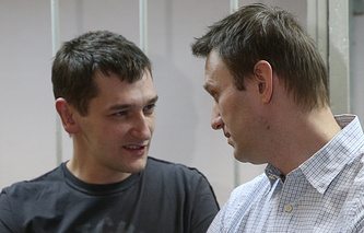 Oleg and Alexey Navalny
