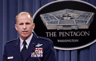 Head of the US Air Force Global Strike Command, Lieutenant-General Stephen Wilson