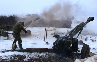 Militia fighing in eastern Ukraine