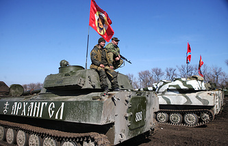 DPR's military equipment