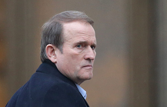 Viktor Medvedchuk, Kiev's special envoy for humanitarian issues and leader of Ukrainian Choice public organization
