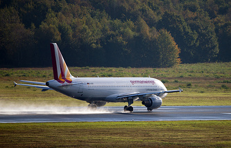 Germanwings Airbus A320 plane (archive)