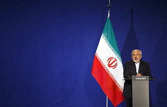 Iran's Foreign Minister Mohammad Java Zarif