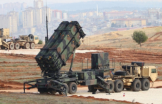 Patriot air defense system (archive)