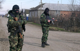 Special operation in Russia's Dagestan (archive)