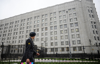 Russian Defense Ministry building in Moscow (archive)