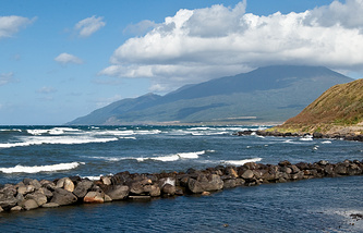A view of the Kuril islands (archive)