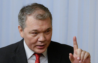 Leonid Kalashnikov, first deputy chairman of the lower house's foreign affairs committee