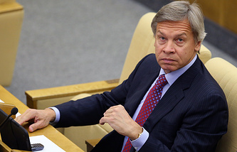 Russian lawmaker Alexei Pushkov
