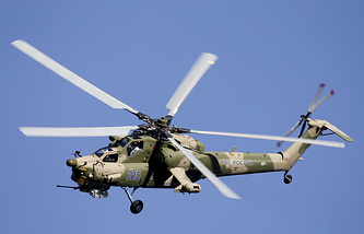 Mi-28N attack helicopter