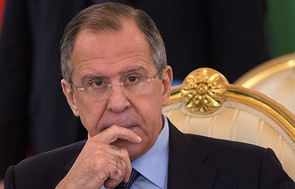 Russia Foreign Minister Sergey Lavrov