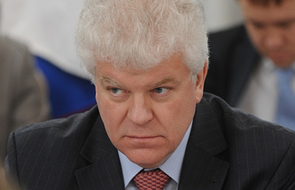 Russia's envoy to the EU Vladimir Chizhov