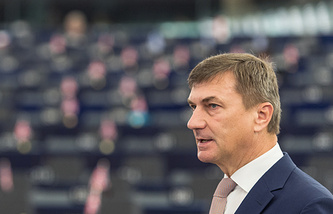 Vice-President of the European Commission Andrus Ansip