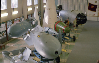 Nuclear weapons museum in Russia